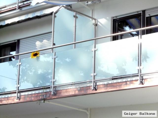 geiger balkone meisterbetrieb glasverkleidungen. Black Bedroom Furniture Sets. Home Design Ideas